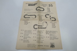 Scalextric instructieblad 35 nr. 105