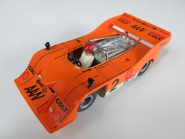 3203 Porsche Can-Am oranje (spiegels zwart)
