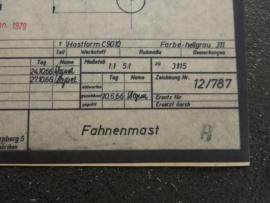3175 Vlaggenstok (origineel 19-01-1979)