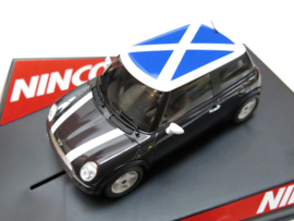 "Ninco, Mini Cooper ""Escocia"" Flag Series (Limited Edition)"
