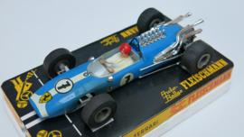 3201 Ferrari F1 blauw nr. 7 (24 spaaks gril, gestempeld) (racemotor)