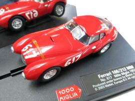 """Carrera Evolution, Ferrari Uovo """"Millia Miglia '52"""" (nieuw)"""