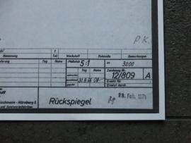 3220 Porsche Carrera 6 spiegel