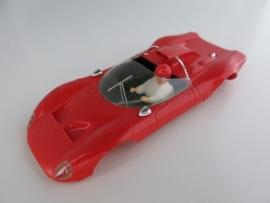 Alfa Romeo kap rood (compleet)