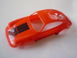 Porsche 911 kap oranje