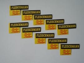 Fleischmann Auto-Rallye stickers (10 stuks) (origineel Fleischmann)