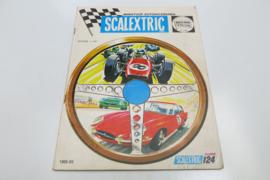 Scalextric catalogus 1968/69 (NL)