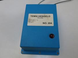 Temsi transformator 204 (dubbel) (2,5 Amp.)