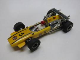 Cooper Maserati geel nr. 5 (gestempeld, nr. 5 op spoiler)
