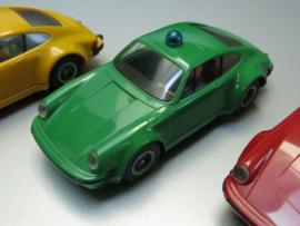 Porsche 911 Rijkspolitie/Polizei groen (extreem zeldzaam)