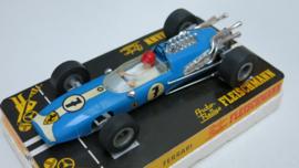 3201 Ferrari F1 blauw nr. 7 (16 spaaks gril, gestempeld)
