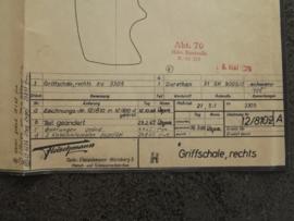 3305 Regelaar met remwerking (rechter handvat) (origineel)