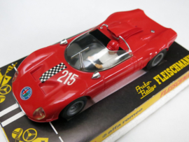 3211 Alfa Romeo nr. 215 rood (nieuw)