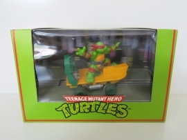 "Scalextric Turtles, Turtle Skateboard ""Raphael"""