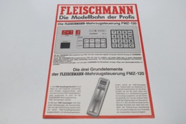 Folder Fleischmann treinen FMZ -120 (DE)