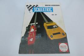 Scalextric catalogus 1970/71 (NL)