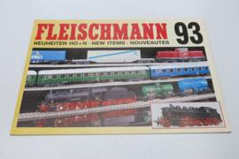 Folder Fleischmann treinen 1993