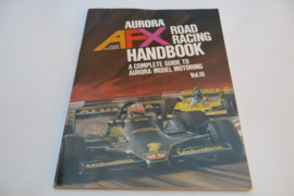 Aurora AFX boek,  Road Racing Handbook (ENG)