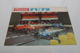 Carrera catalogus 1971/72 (FR)