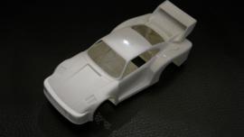 Porsche 935 bodem + kap wit (zie tekst)