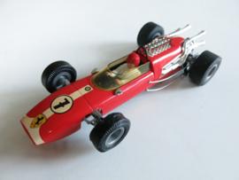 Ferrari F1 rood nr. 7 (24 spaaks gril, gestempeld)