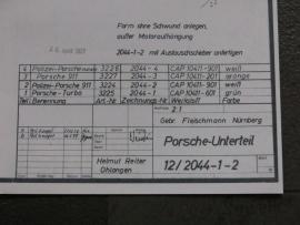 3224 - 3227 Porsche 911 bodem