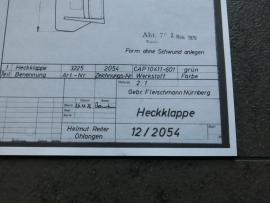 3225 Porsche 911 Turbo spoiler