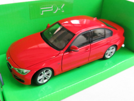Welly, BMW 335i (rood)