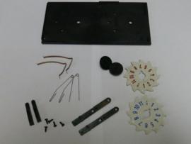 Teller reparatieset (blauw/rood tellers)