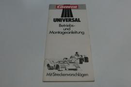 Carrera Universal gebruiksaanwijzing