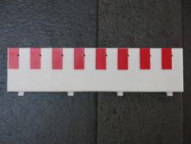 Ninco slipstrook half recht (per stuk)