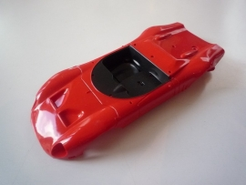 Alfa Romeo kap rood