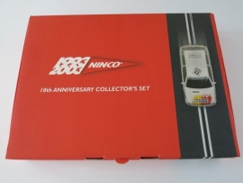 Ninco, Renault Clio, 10th Anniversary Collector`s Set (Limited Edition) (nieuw)