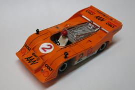 3203 Porsche Can-Am oranje nr: 2 (spiegels zwart)