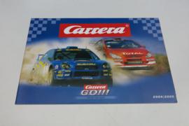 Carrera Go catalogus 2004/2005