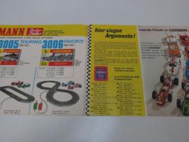 Folder Fleischmann Auto-Rallye (zeldzaam)
