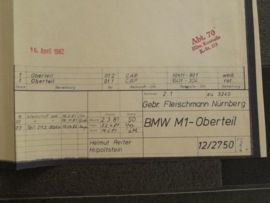 3240 / 3241 BMW M1 kap (origineel)