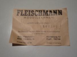 Certificaat nr: 580380 (DE)