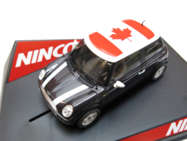 "Ninco, Mini Cooper ""Canada"" Flag Series (Limited Edition)"