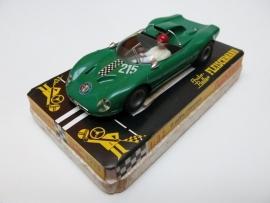 3213 Alfa Romeo nr. 215 groen (zeer goede staat, gestempeld)