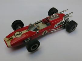 Ferrari F1 rood nr. 7 (16 spaaks gril) (nieuwstaat)