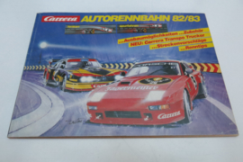 Carrera catalogus 1982/83 (DE) (+stickervel)