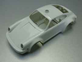 Porsche 911 Bodem + kap Rijkspolitie/Polizei wit (extreem zeldzaam)