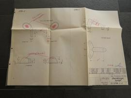 """3230 Ferrari """"Niki Lauda"""" rolbeugel, spiegels (origineel)"""