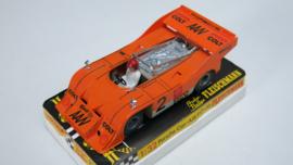 3203 Porsche Can-Am oranje (spiegels chrome)