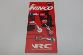 Ninco folder NRC racing components 2002