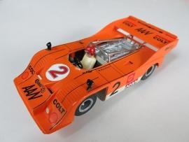 Porsche Can-Am oranje nr: 2 (spiegels zwart)