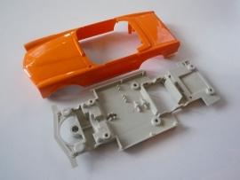Mercedes 280SL bodem + kap oranje