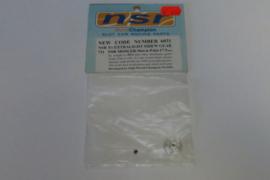 NSR tandwiel 31 tands 17.5 mm t.b.v. NSR Mosler, Slot-it, ProSlot