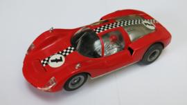 Porsche Carrera 6 rood nr 7